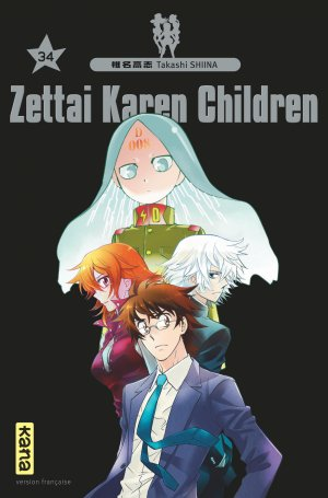 Zettai Karen Children 34 Simple