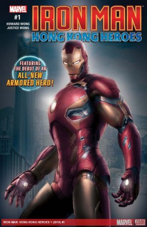 Iron Man - Hong Kong Heroes édition Issue (2018)