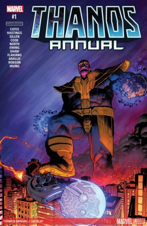 Thanos # 1 Issues V2 - Annual (2018)