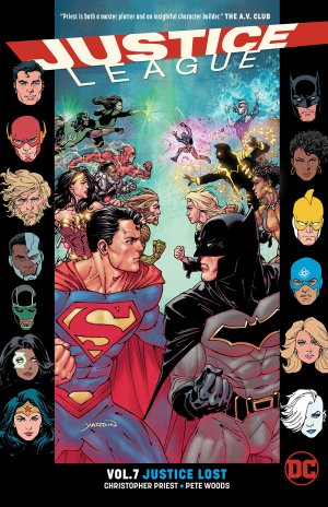 Justice League 7 TPB softcover (souple) - Issues V3