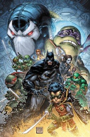 Batman / Teenage Mutant Ninja Turtles II édition TPB hardcover (cartonnée)