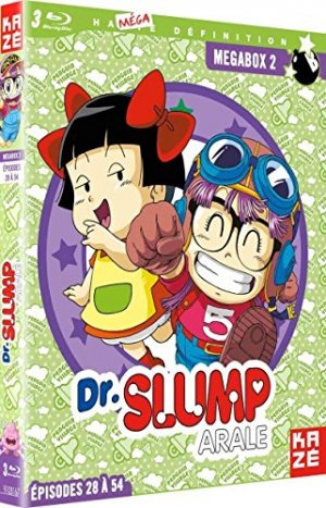 Dr Slump (1981) Megabox Blu-ray 2 Série TV animée