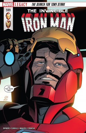 Invincible Iron Man # 599 Issues V3 (2017 - 2018)
