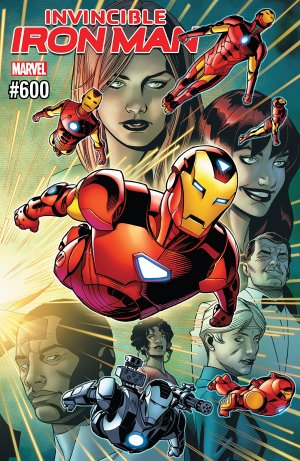 Invincible Iron Man # 600 Issues V3 (2017 - 2018)