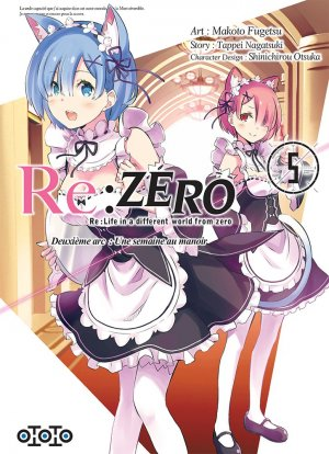 Re:Zero - Re:Life in a different world from zero - Deuxième arc : Une semaine au manoir 5 Simple
