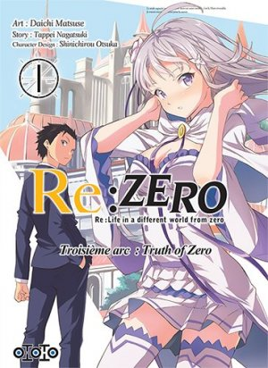 Re:Zero - Re:Life in a different world from zero - Troisième arc : Truth of Zero 1 Simple