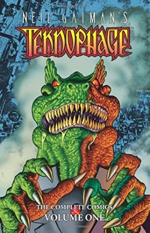 Neil Gaiman's Teknophage édition TPB hardcover (cartonnée)