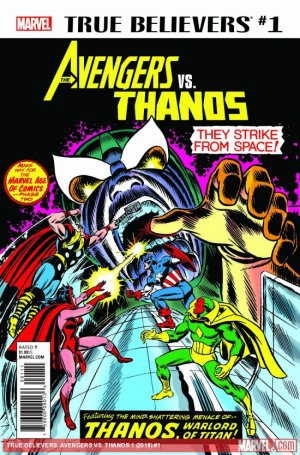 True Believers - Avengers Vs. Thanos édition Issue (2018)
