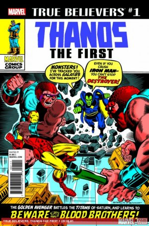 True Believers - Thanos The First  Issue (2018)