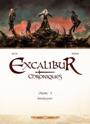 couverture, jaquette Excalibur - Chroniques 5  - Morgane (soleil bd) BD