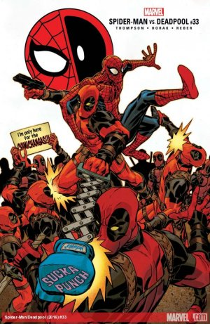 Deadpool # 33 Issues (2016 - Ongoing)