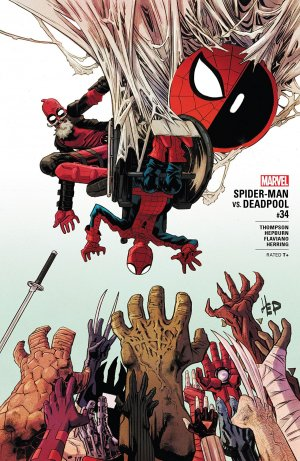 Spider-Man / Deadpool # 34 Issues (2016 - Ongoing)