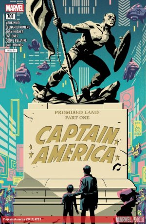Captain America # 701 Issues V1 Suite (2017 - 2018)