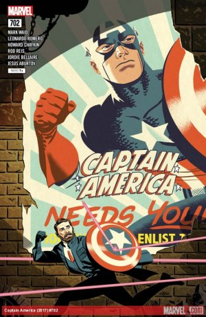 Captain America # 702 Issues V1 Suite (2017 - 2018)