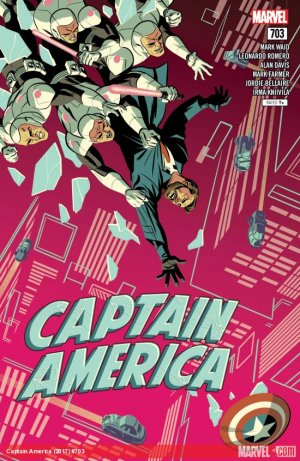 Captain America # 703 Issues V1 Suite (2017 - 2018)