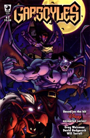 Gargoyles édition Issues (2006 - 2008)