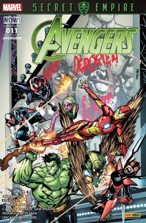 Infamous Iron Man # 11 Kiosque V5 (2017 - 2018)