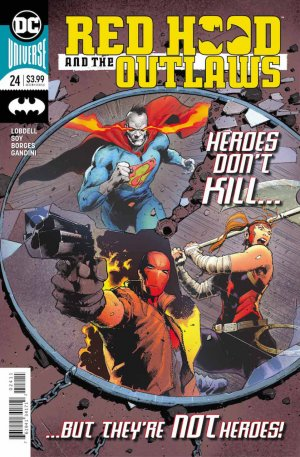 Red Hood and The Outlaws # 24 Issues V2 (2016 - Ongoing) - Rebirth