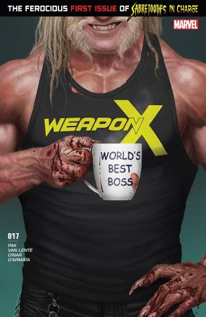 Weapon X # 17 Issues V3 (2017 - 2018)