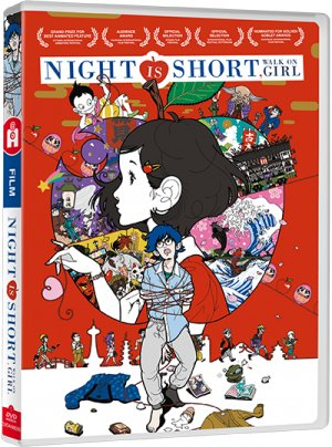The Night Is Short, Walk on Girl édition DVD