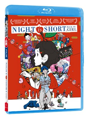 The Night Is Short, Walk on Girl édition Blu-ray