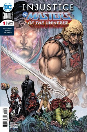 Injustice vs. He-Man and the Masters of The Universe # 1 Issues (2018)