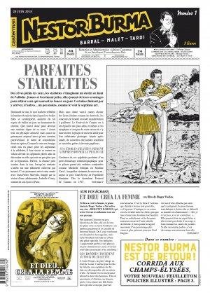 Nestor Burma : Corrida aux Champs-Elysées 1 Edition Journal