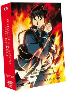 couverture, jaquette Fullmetal Alchemist Brotherhood 2 Coffret (Dybex)