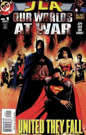 JLA - Our Worlds at War # 1 Issues