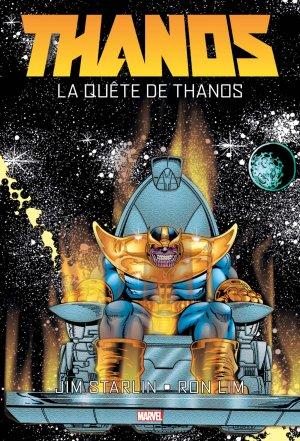 Thanos - La Quête de Thanos édition TPB Hardcover - Marvel Graphic Novels