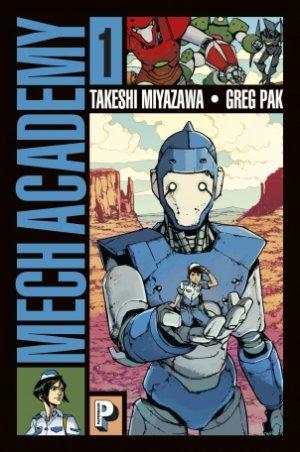 Mech Academy édition TPB softcover (souple)