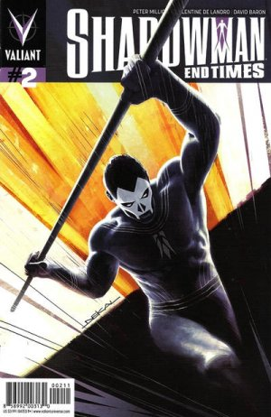 Shadowman - End Times # 2 Issues