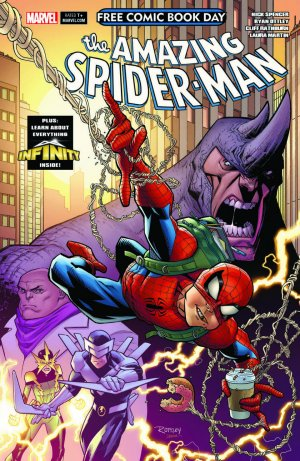 Free Comic Book Day 2018 - Amazing Spider-Man / Guardians of the Galaxy # 1 Issue (2018)