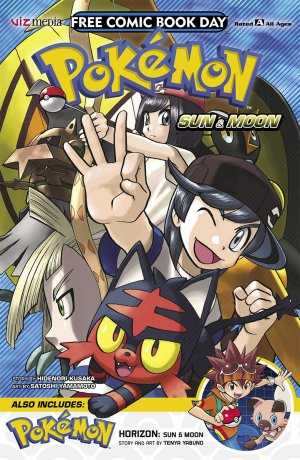 Free Comic Book Day 2018 - Pokemon Sun And Moon And Horizon édition Issue (2018)