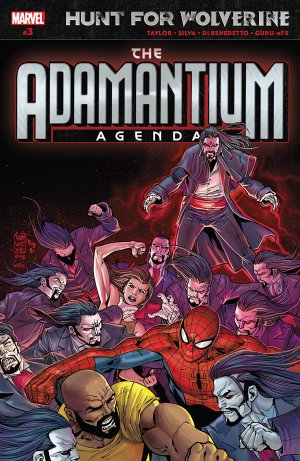 Hunt for Wolverine - Adamantium Agenda # 3