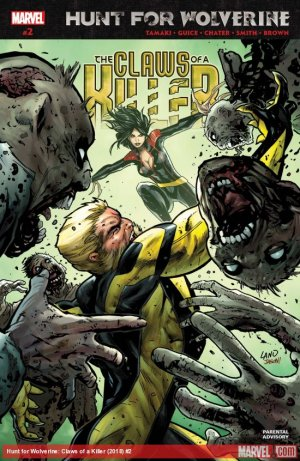 Hunt For Wolverine - Claws Of A Killer # 2