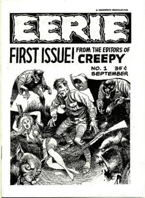 Eerie édition Issues (1965 - 1983)