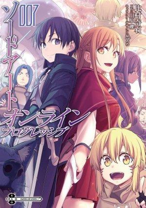couverture, jaquette Sword Art Online - Girls' Ops 7  (Kadokawa)