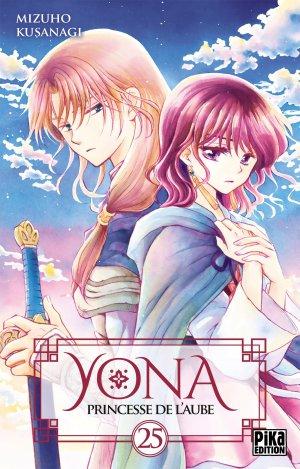 couverture, jaquette Yona, Princesse de l'aube 25  (Pika) Manga