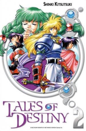 couverture, jaquette Tales of Destiny 2  (Ki-oon)