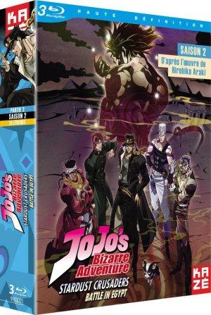 couverture, jaquette JoJo's Bizarre Adventure: Stardust Crusaders - Egypt Arc 2 Blu-ray (Kaze)
