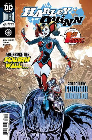 Harley Quinn # 45 Issues V3 (2016 - Ongoing) - Rebirth