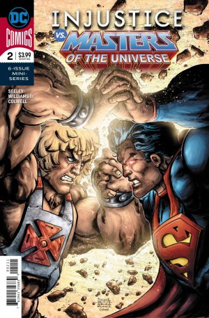 Injustice vs. He-Man and the Masters of The Universe # 2 Issues (2018)