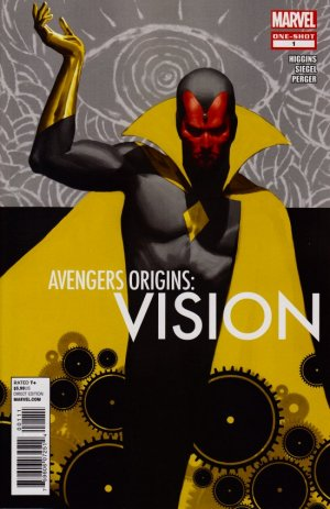 Avengers Origins - Vision # 1 Issue (2012)
