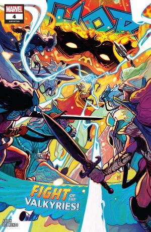 Thor # 4 Issues V5 (2018 - 2019)