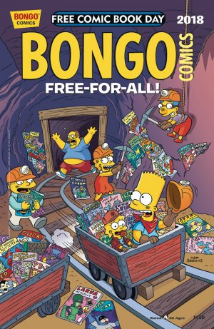 Free Comic Book Day 2018 - Bongo Comics édition Issues