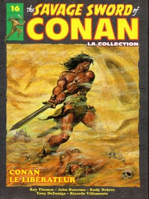 The Savage Sword of Conan # 16