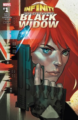 Infinity Countdown - Black Widow # 1 Issue (2018)