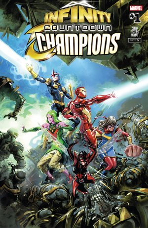 Infinity Countdown - Champions édition Issues (2018)
