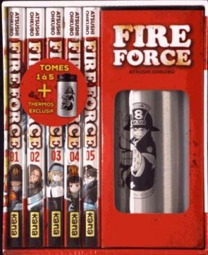 Fire force # 1 Coffret 5 tomes